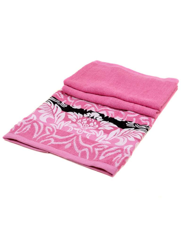 Полотенце Банное махра 2810 pink