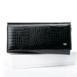 Кошелек LR кожа-лак SERGIO TORRETTI W501 black