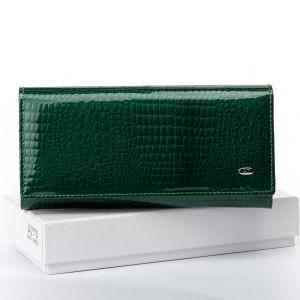 Кошелек LR кожа-лак SERGIO TORRETTI W1-V dark-green