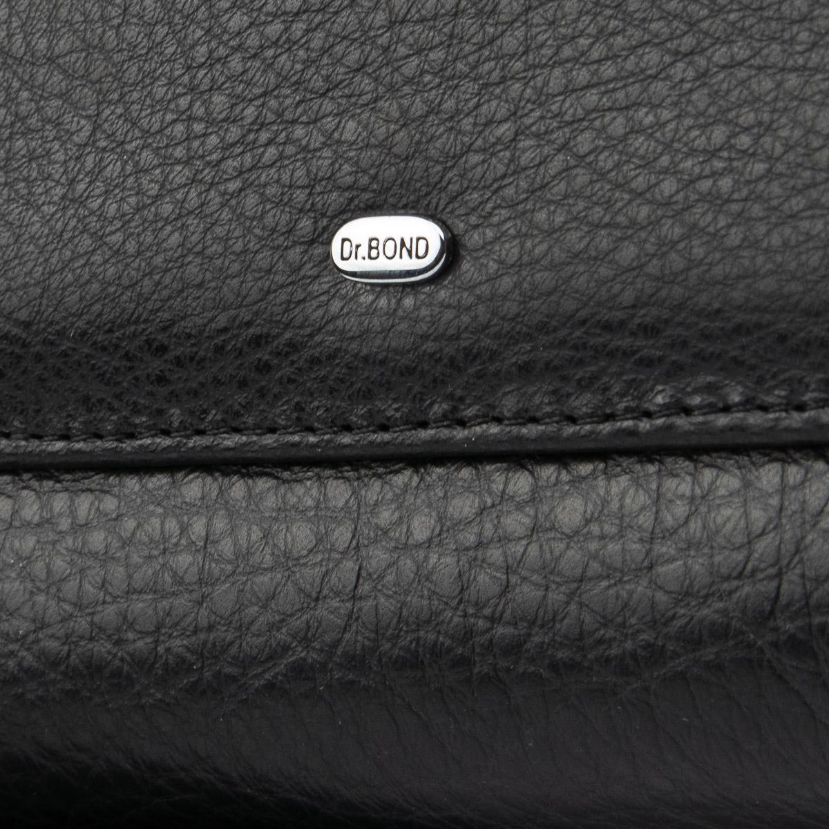 Кошелек Classic кожа DR. BOND WMB-4M black