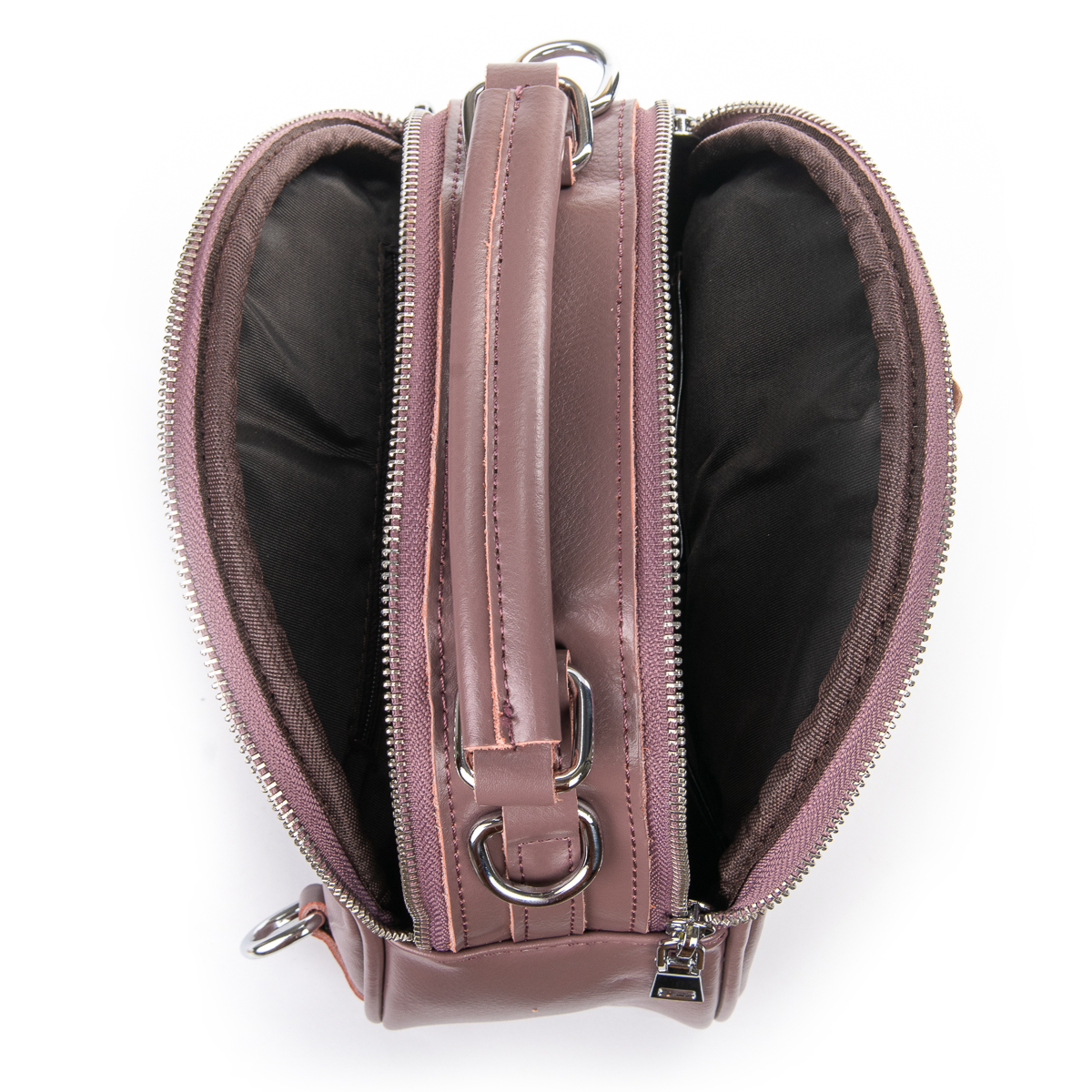 Сумка Женская Клатч кожа ALEX RAI 06-1 339 purple - фото 5