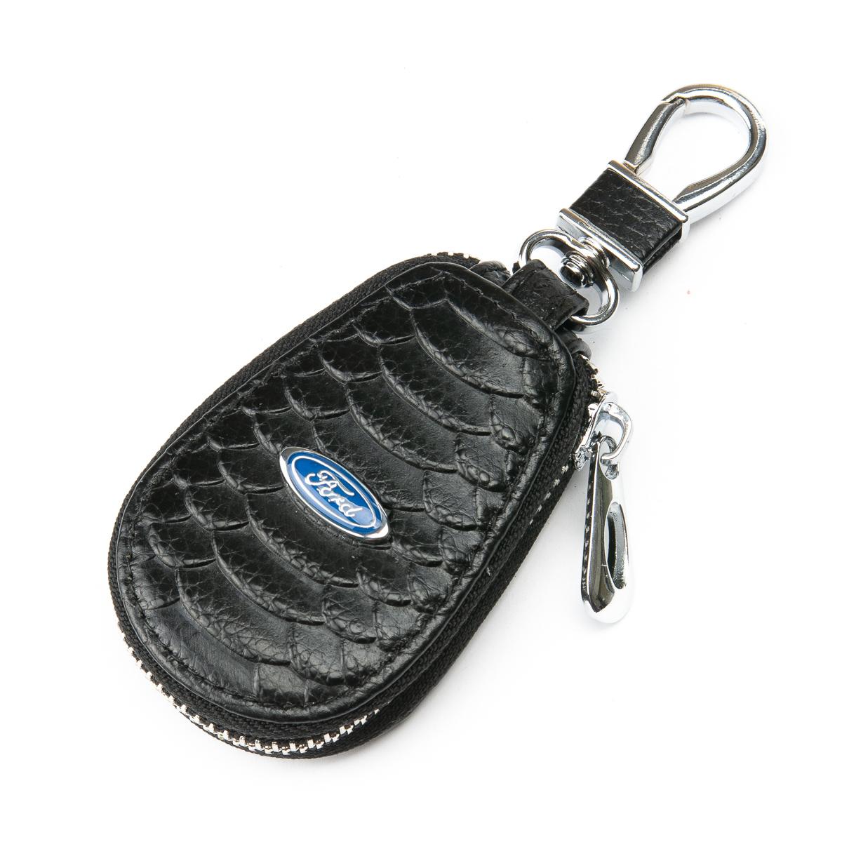 Кошелек Ключница Авто кожа F625 Ford black