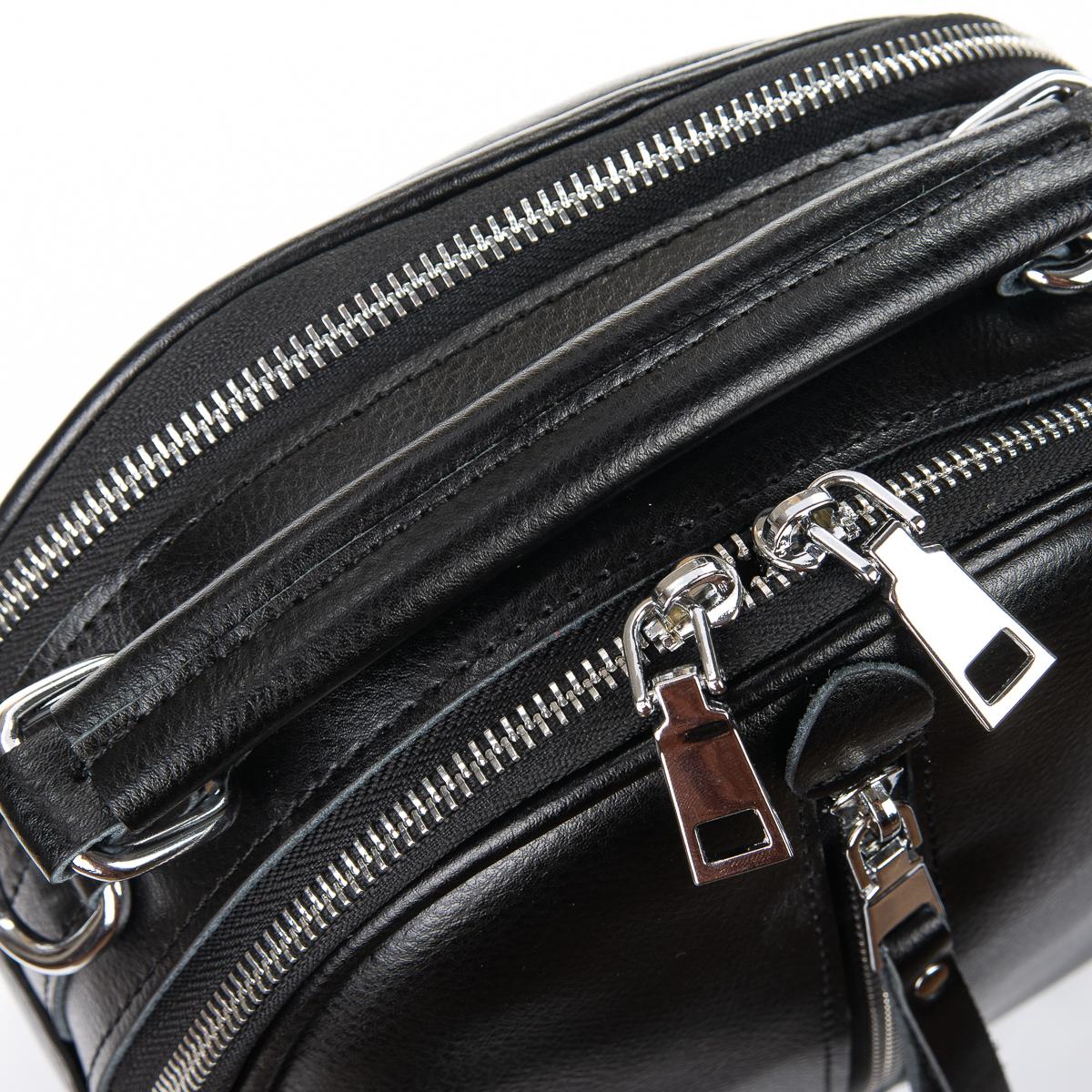Сумка Женская Клатч кожа ALEX RAI 06-1 339 black - фото 3