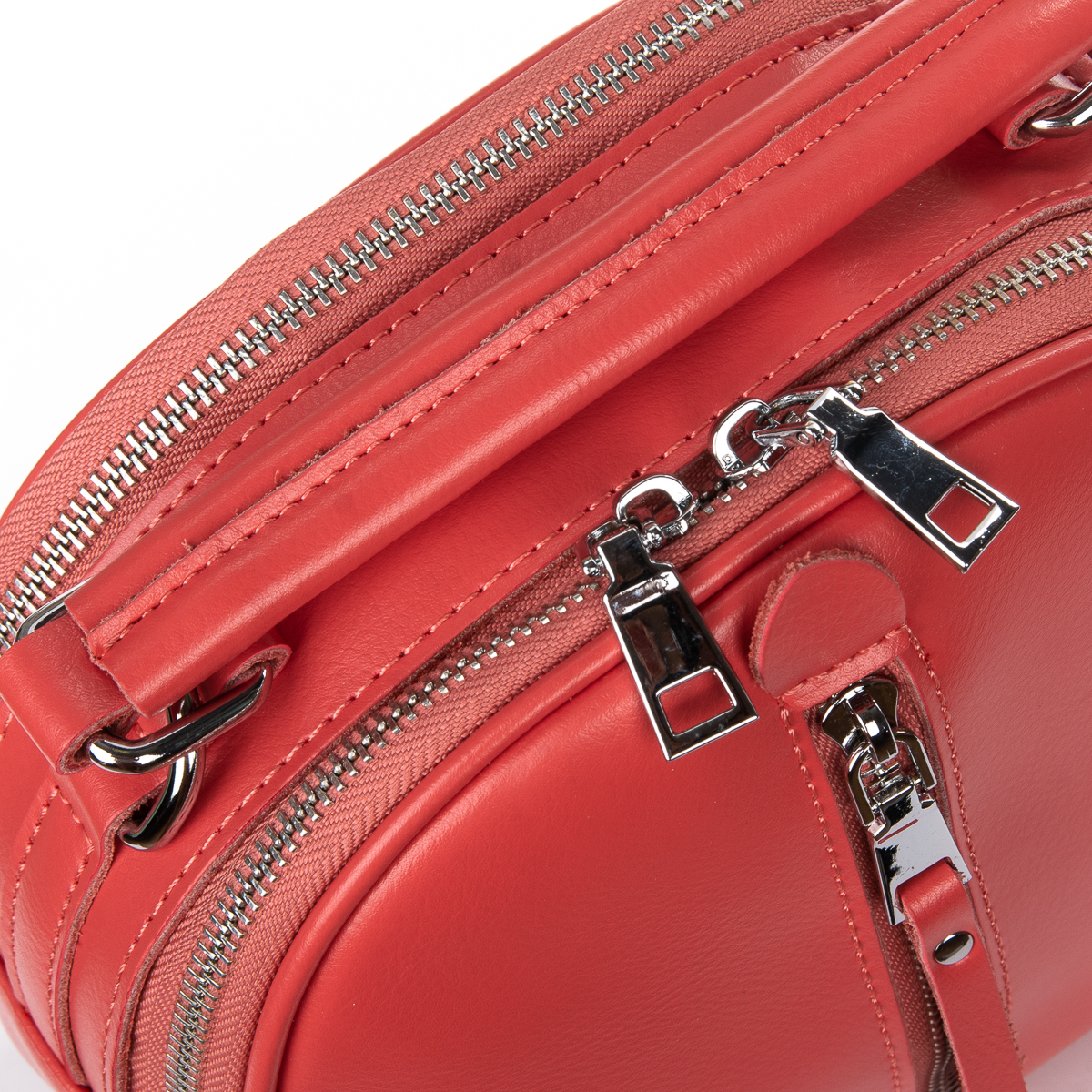 Сумка Женская Клатч кожа ALEX RAI 06-1 339 light-red - фото 3