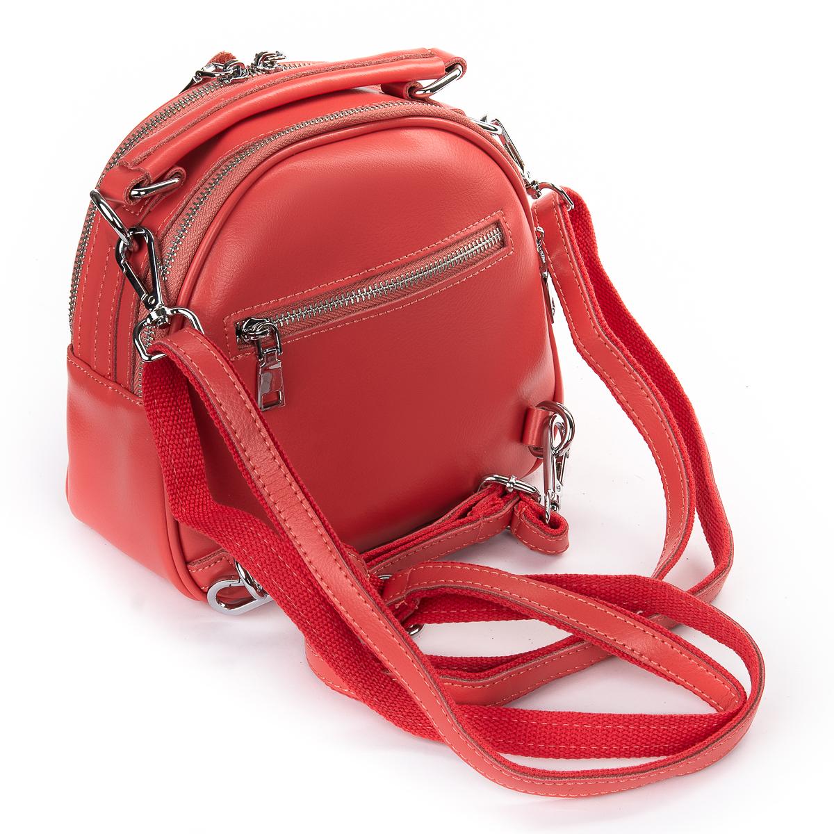 Сумка Женская Клатч кожа ALEX RAI 06-1 339 light-red - фото 4