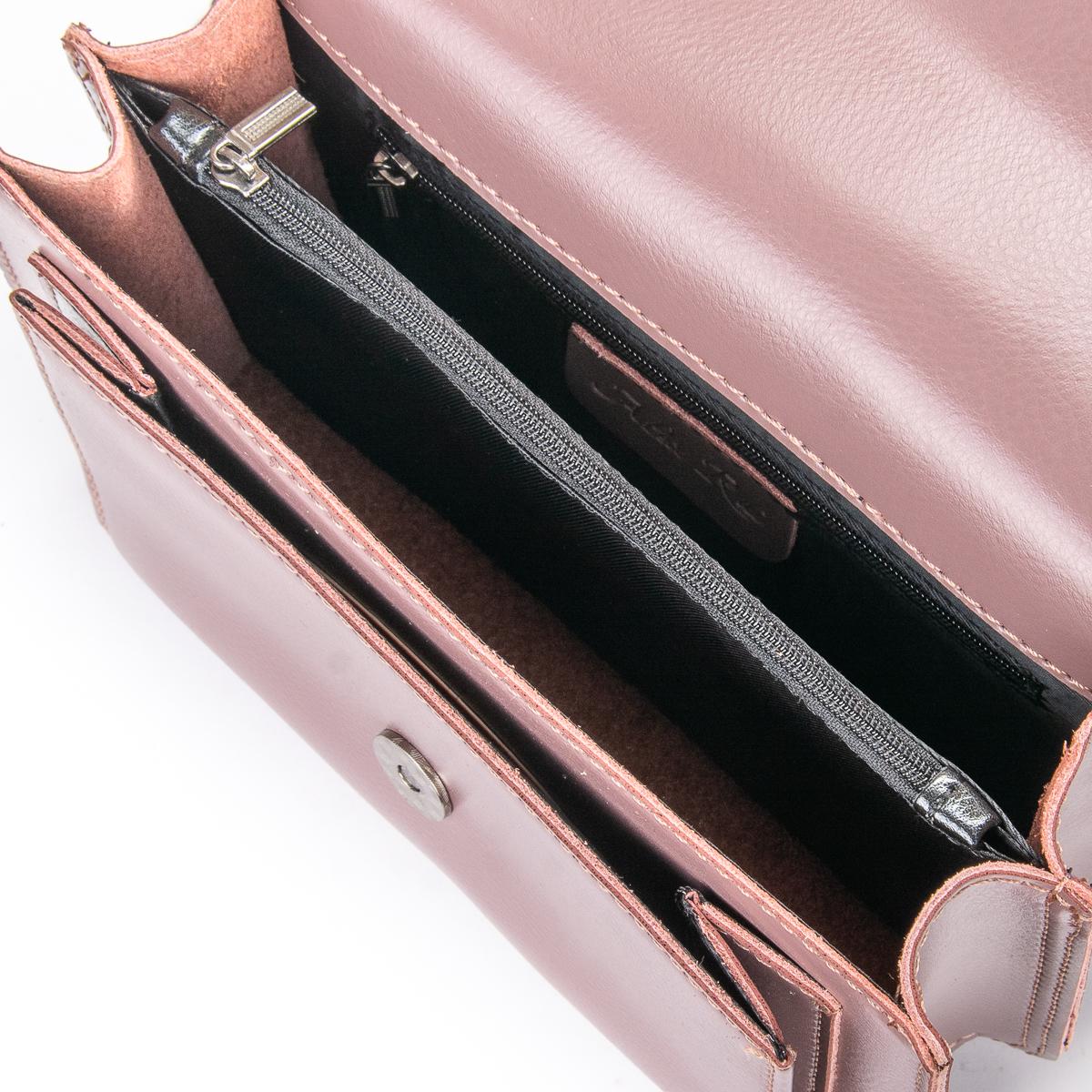 Сумка Женская Клатч кожа ALEX RAI 06-1 8543 purple - фото 5