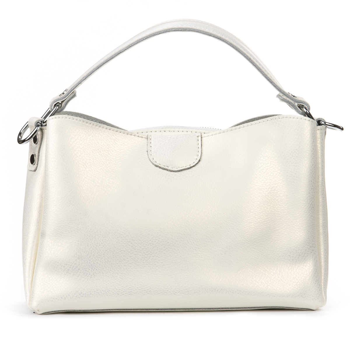 Сумка Женская Классическая кожа ALEX RAI 06-1 1383 pearl-white