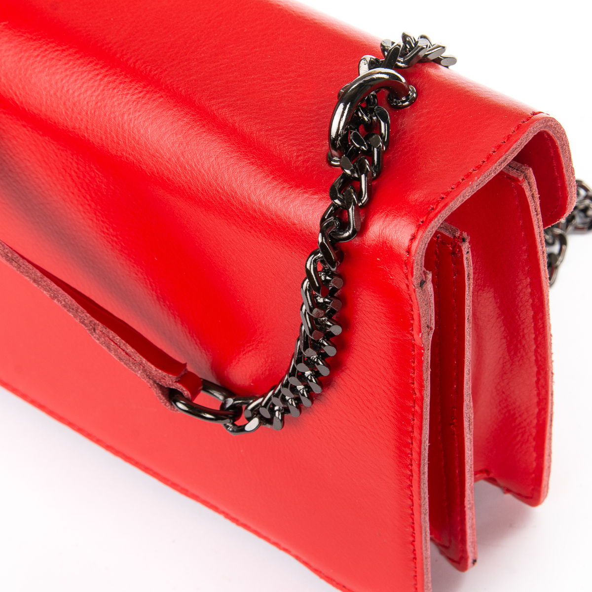 Сумка Женская Клатч кожа ALEX RAI 06-1 8543 red - фото 3