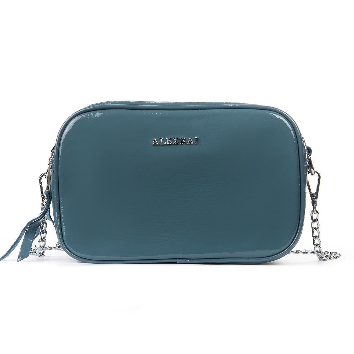 Сумка Женская Клатч кожа ALEX RAI 06-1 8736-3 l-blue