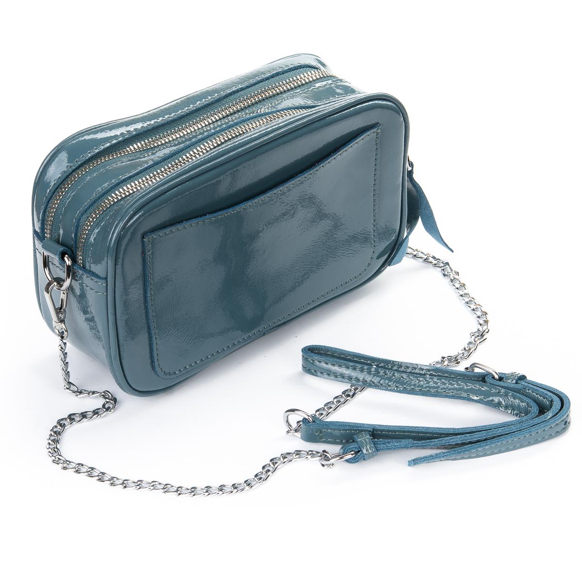 Сумка Женская Клатч кожа ALEX RAI 06-1 8736-3 l-blue - фото 4