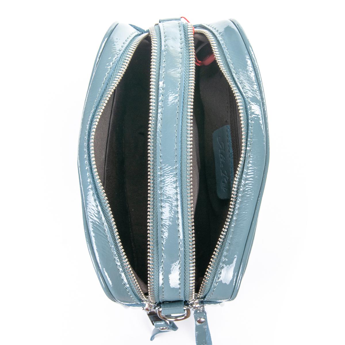 Сумка Женская Клатч кожа ALEX RAI 06-1 8736-3 l-blue - фото 5
