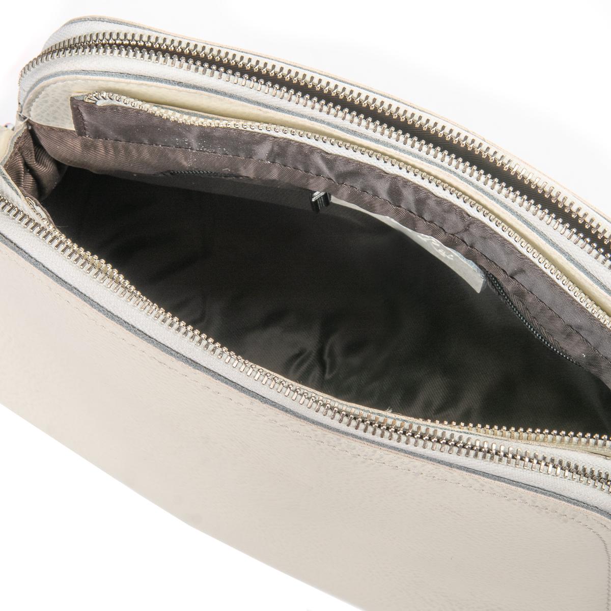 Сумка Женская Клатч кожа ALEX RAI 06-1 8725 bead ight-white
