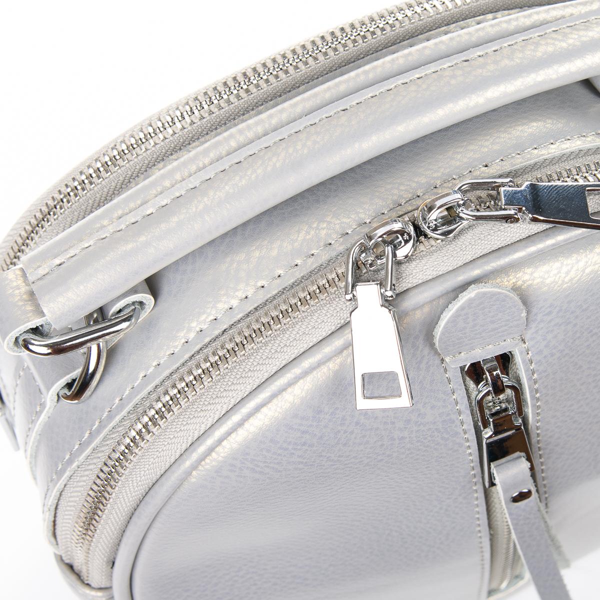 Сумка Женская Клатч кожа ALEX RAI 06-1 339 light-grey