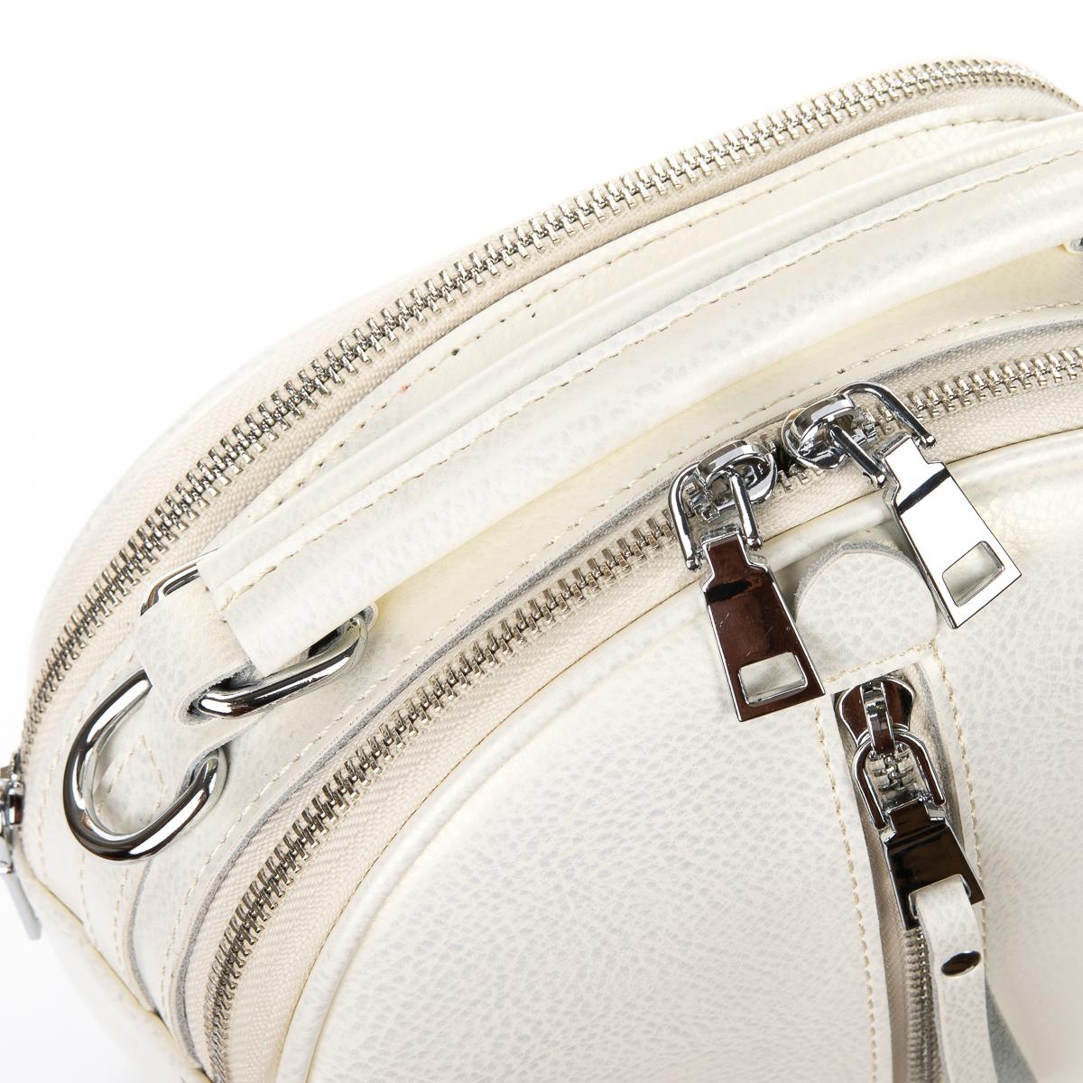 Сумка Женская Клатч кожа ALEX RAI 06-1 339 white - фото 3