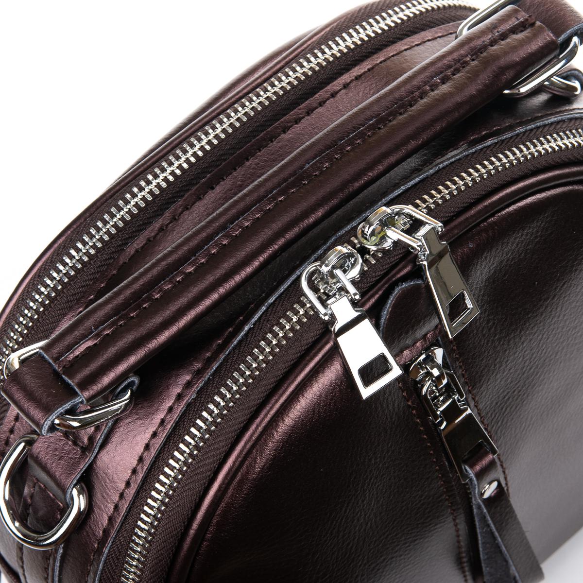 Сумка Женская Клатч кожа ALEX RAI 06-1 339 light-brown - фото 3
