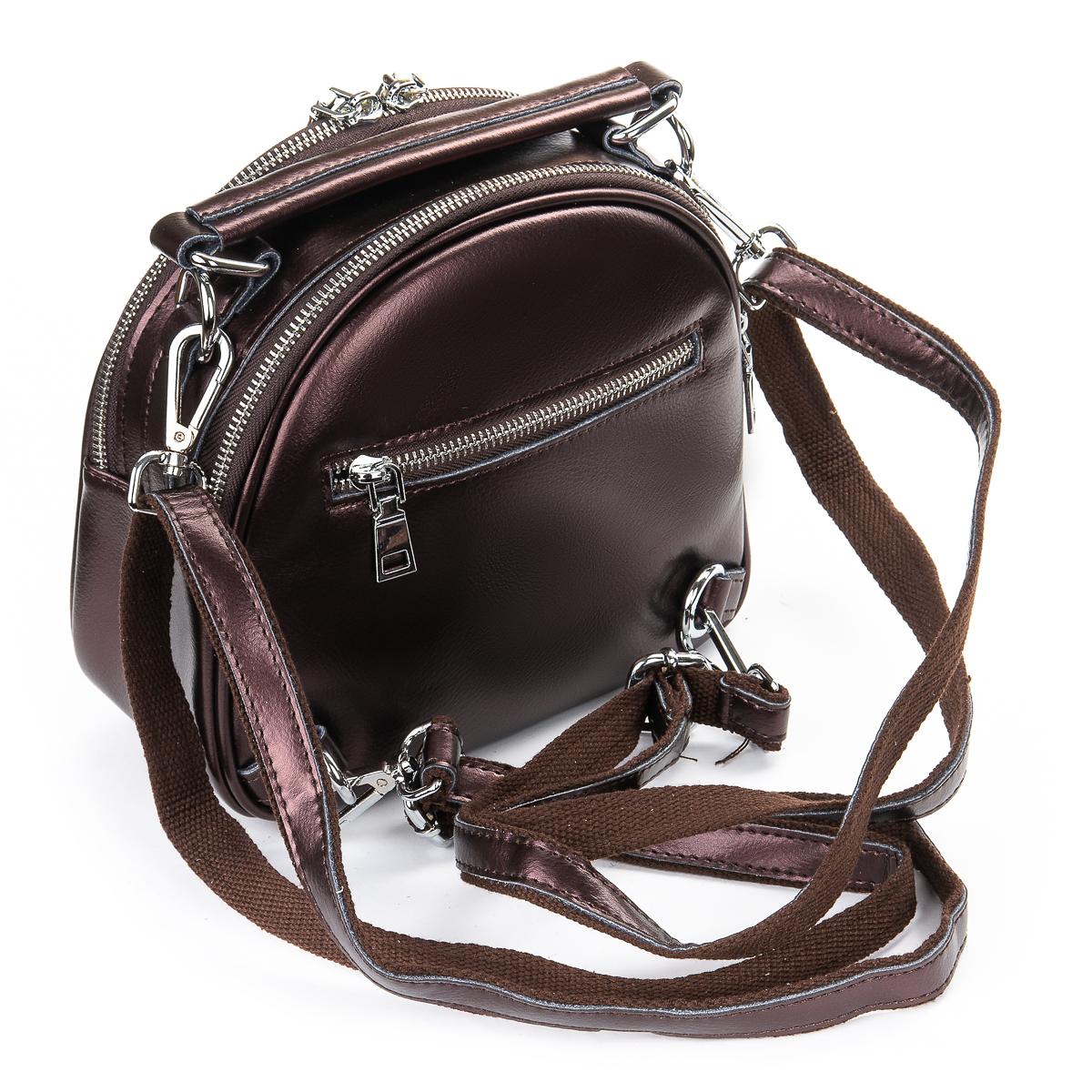 Сумка Женская Клатч кожа ALEX RAI 06-1 339 light-brown - фото 4