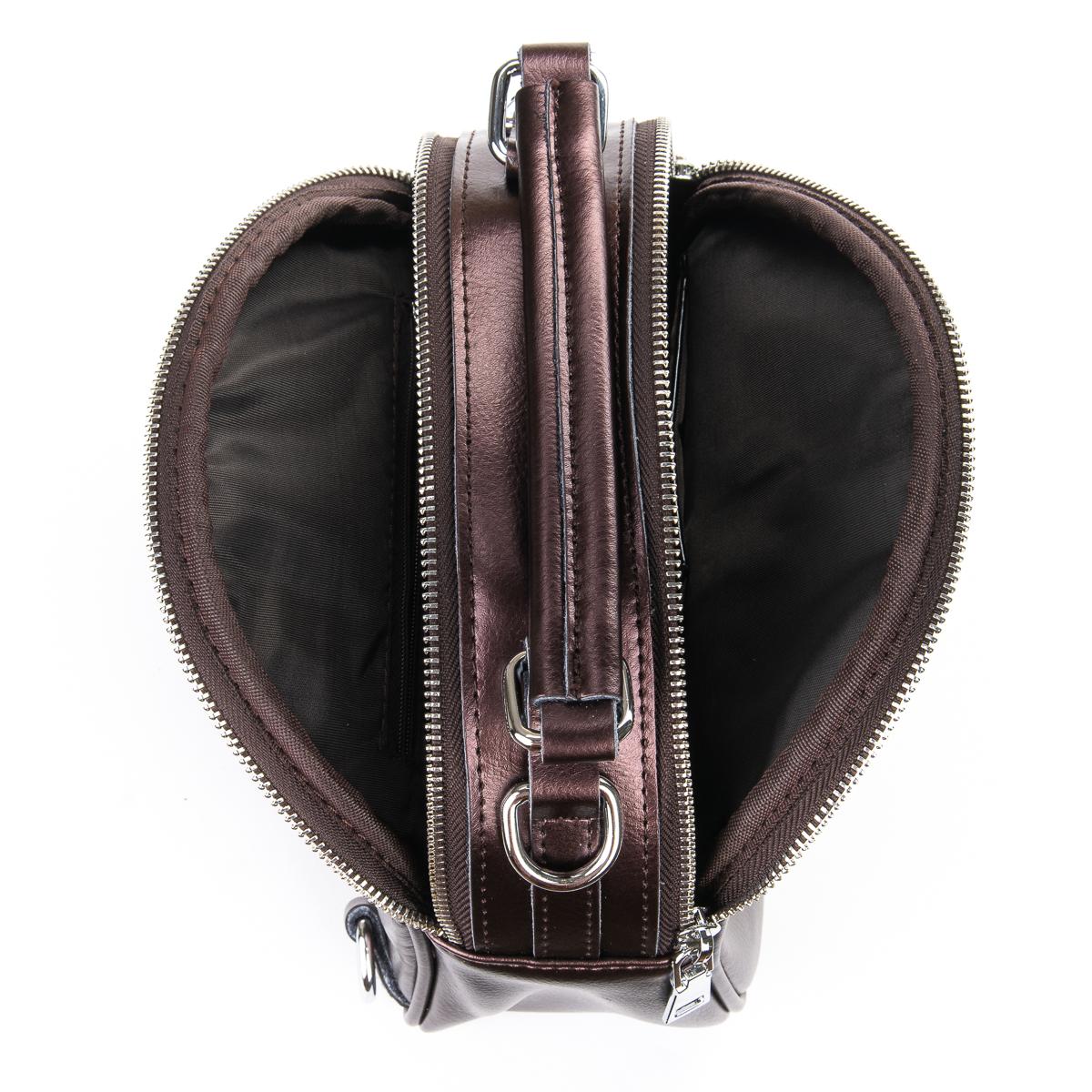 Сумка Женская Клатч кожа ALEX RAI 06-1 339 light-brown - фото 5