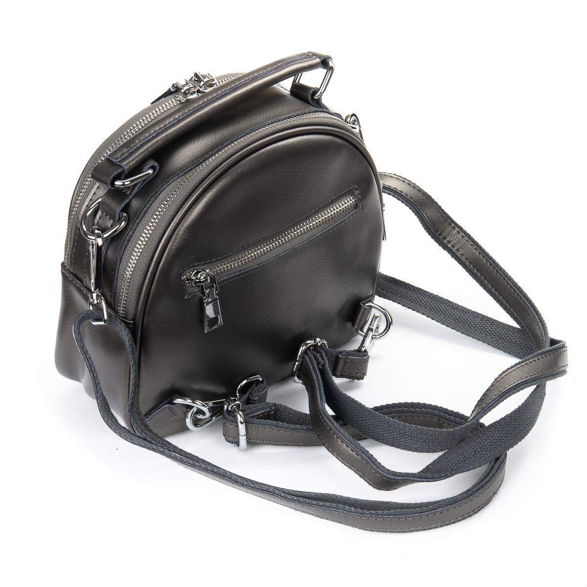 Сумка Женская Клатч кожа ALEX RAI 06-1 339 dark-grey