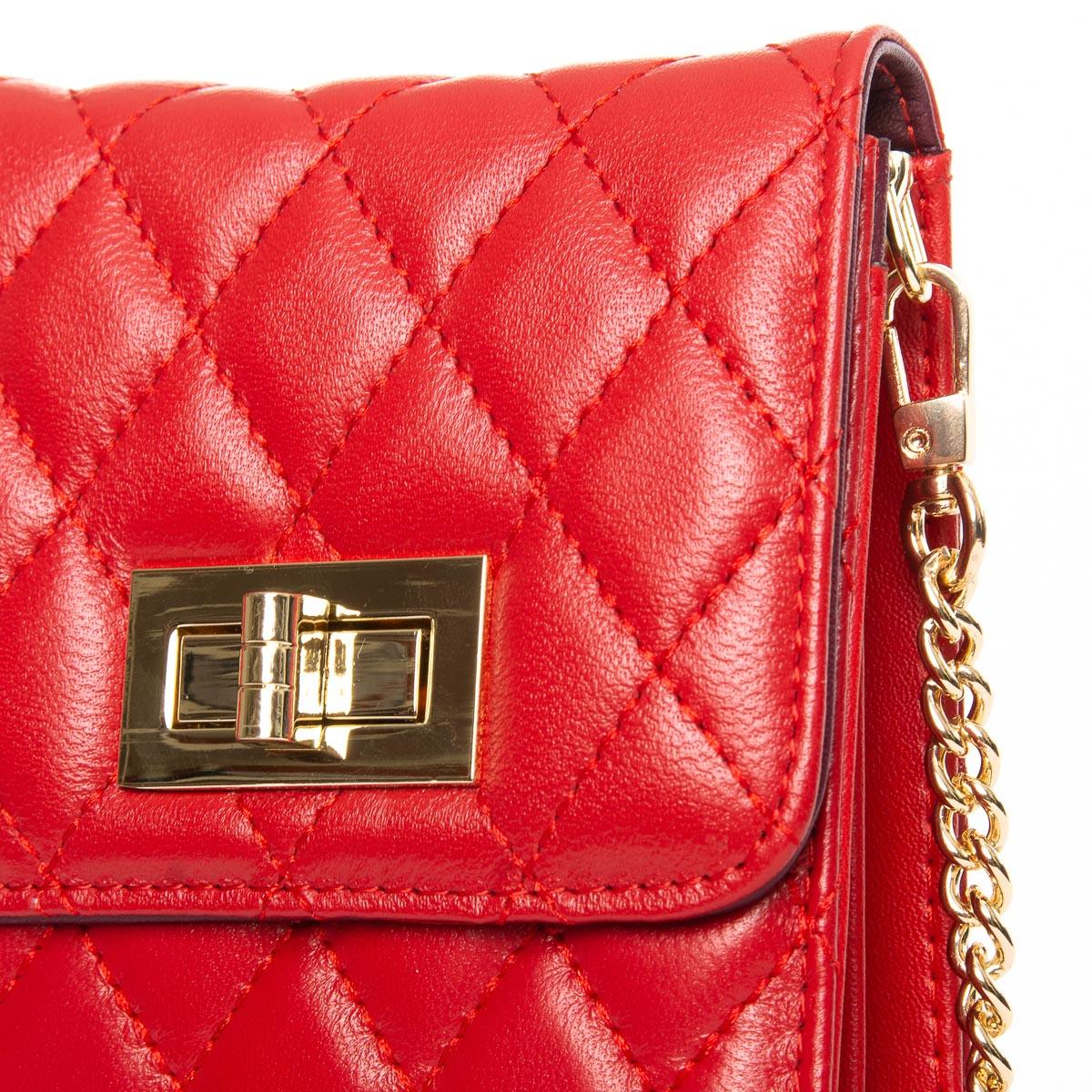 Сумка Женская Клатч кожа ALEX RAI 03-1 1038 red - фото 3
