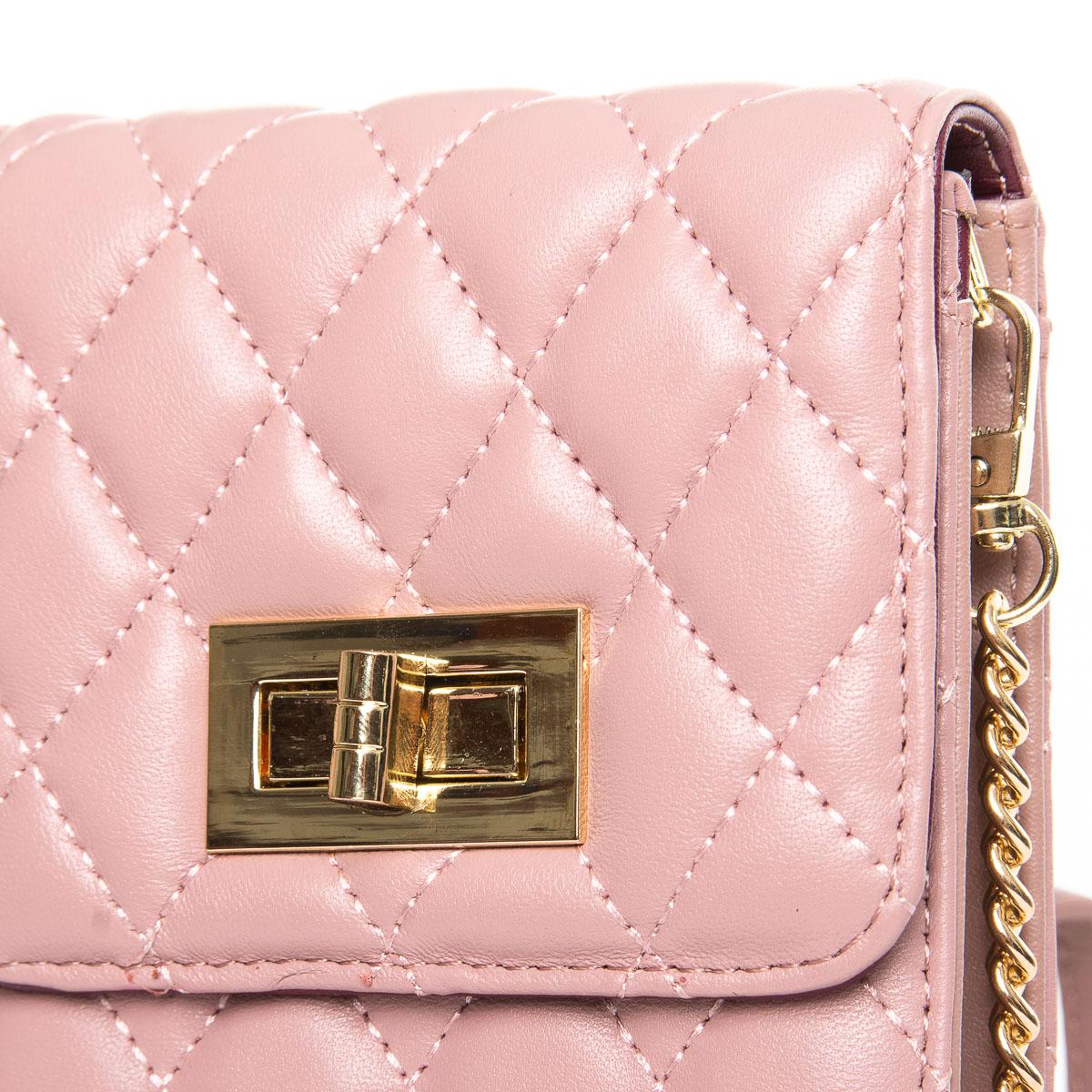 Сумка Женская Клатч кожа ALEX RAI 03-1 1038 pink - фото 3