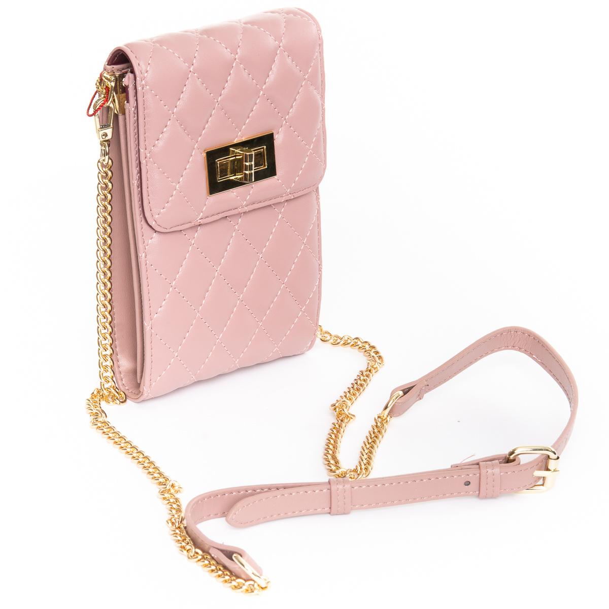 Сумка Женская Клатч кожа ALEX RAI 03-1 1038 pink - фото 4