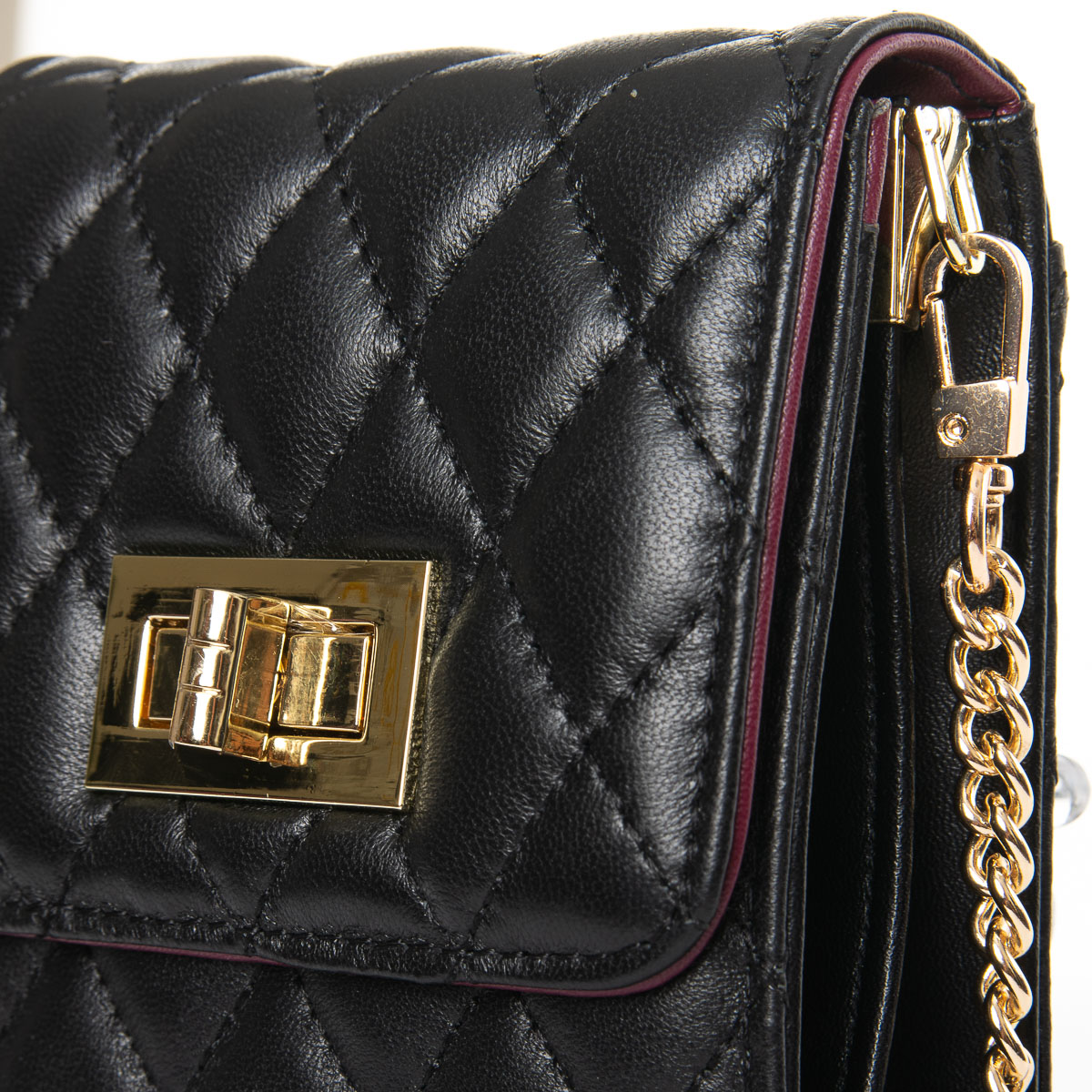 Сумка Женская Клатч кожа ALEX RAI 03-1 1038 black