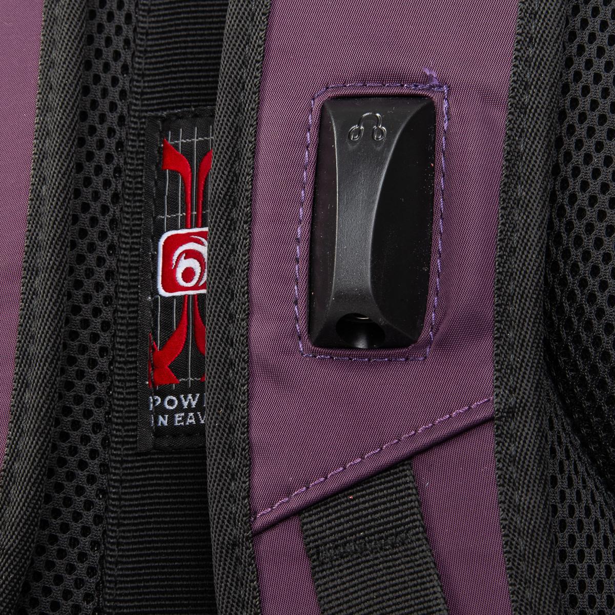 Рюкзак Городской нейлон Power In Eavas 5143 purple - фото 4