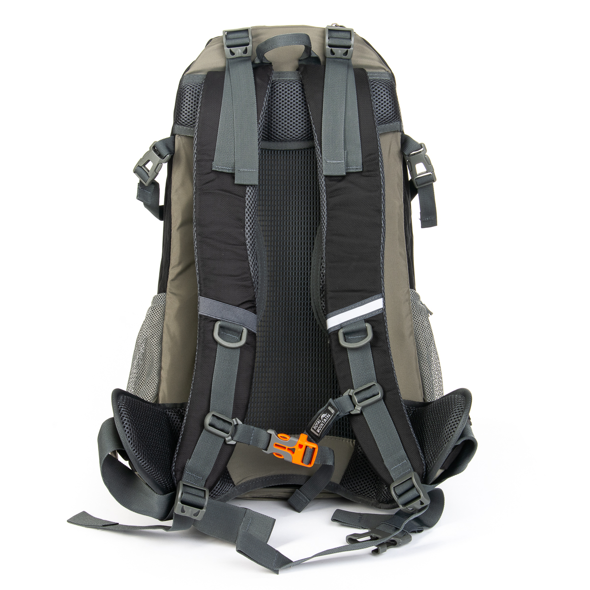Рюкзак Туристический нейлон Royal Mountain 1182 black-grey