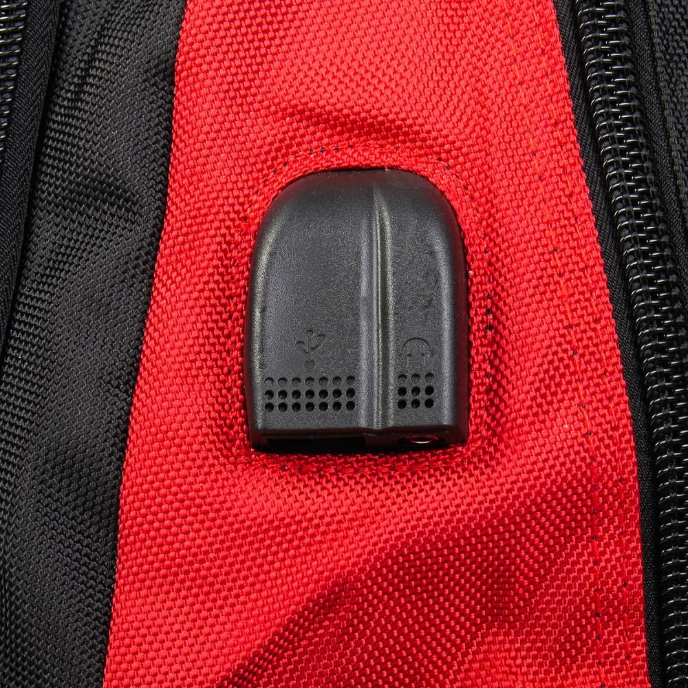Рюкзак Городской нейлон Power In Eavas 8215 red