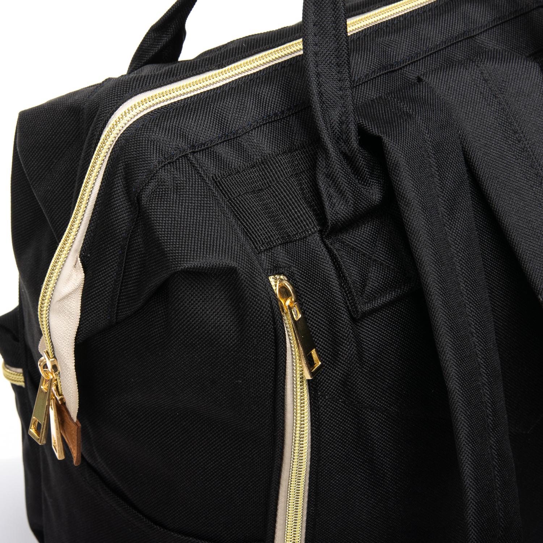 Сумка Женская Рюкзак нейлон Lanpad 5606 black - фото 3