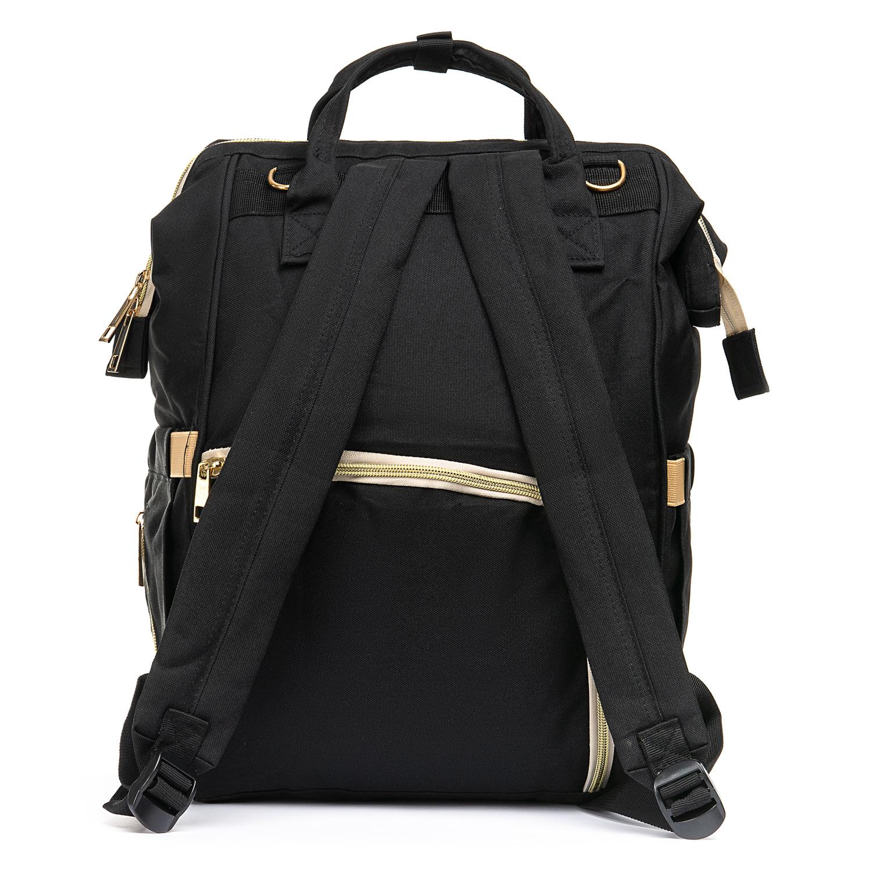 Сумка Женская Рюкзак нейлон Lanpad 5605 black - фото 4