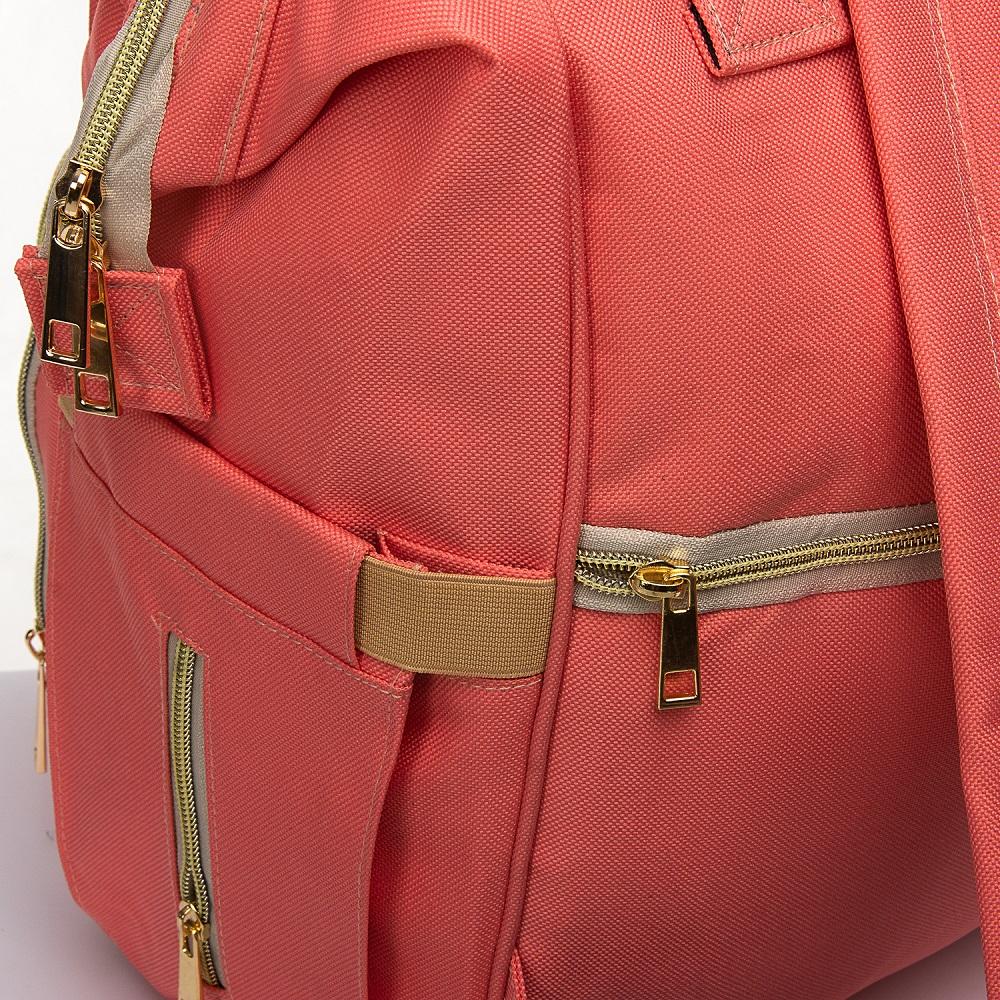Сумка Женская Рюкзак нейлон Lanpad 5605 pink - фото 3