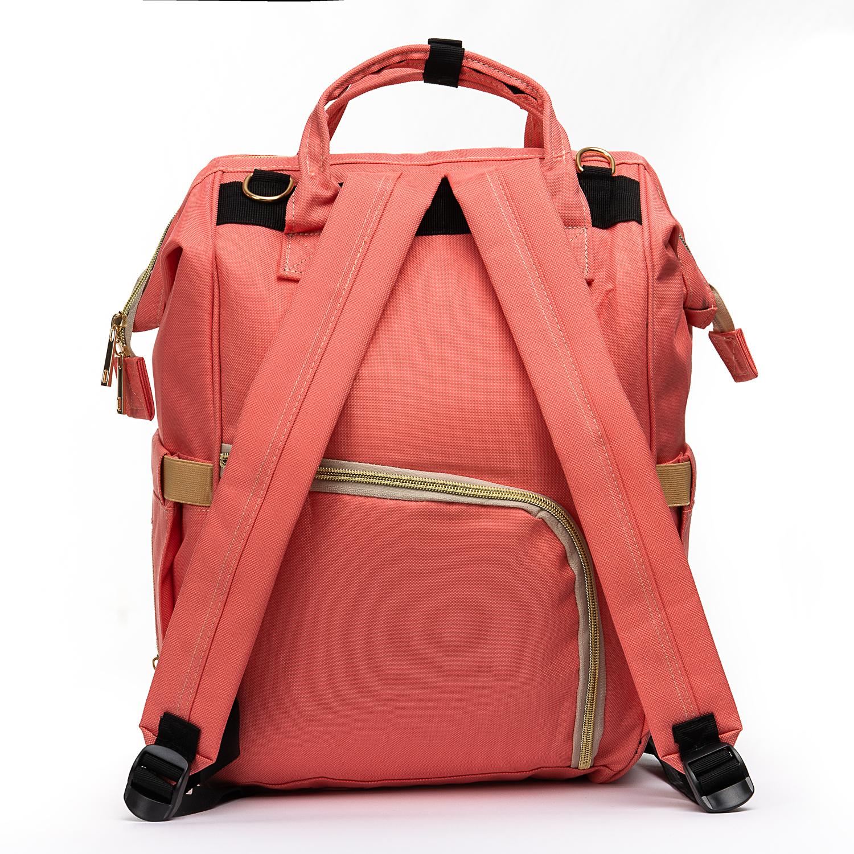 Сумка Женская Рюкзак нейлон Lanpad 5605 pink - фото 4