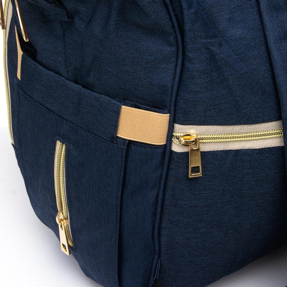Сумка Женская Рюкзак нейлон Lanpad 5605 blue - фото 5