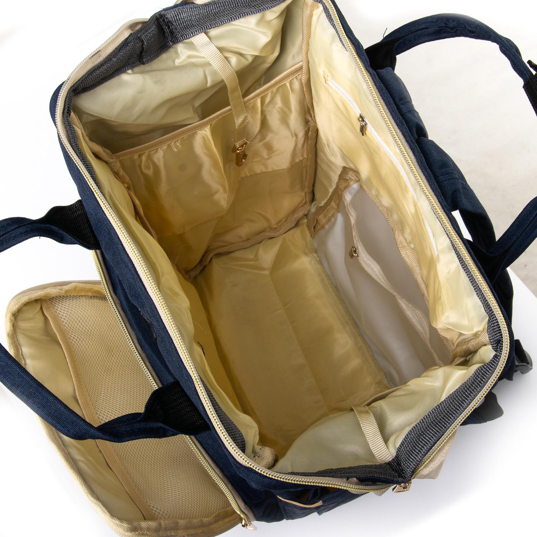 Сумка Женская Рюкзак нейлон Lanpad 5605 blue - фото 4
