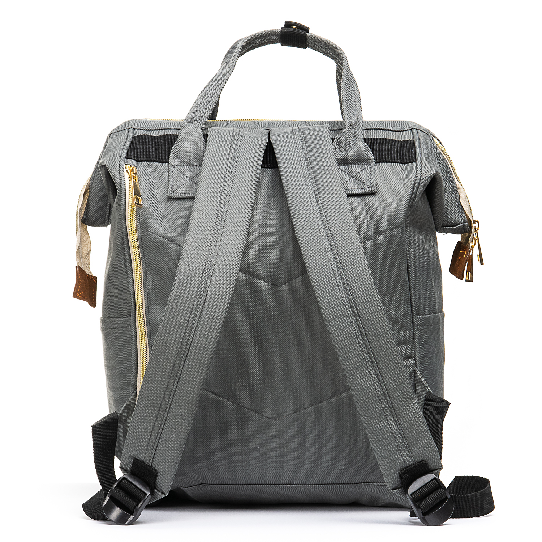 Сумка Женская Рюкзак нейлон Lanpad 5606 grey
