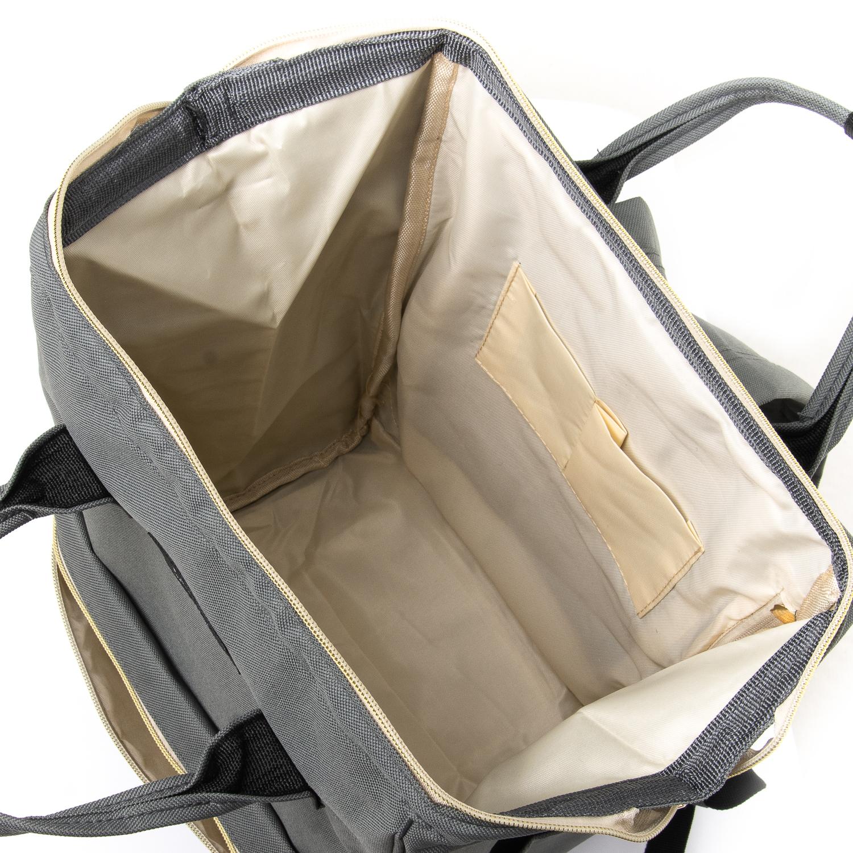 Сумка Женская Рюкзак нейлон Lanpad 5606 grey - фото 4
