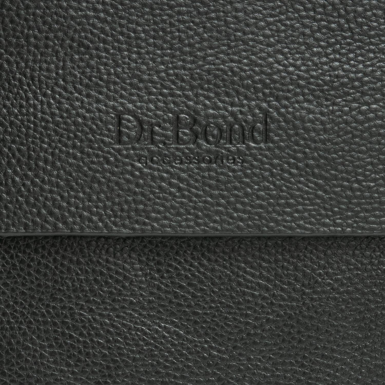Сумка Мужская Планшет иск-кожа DR. BOND 314-3 black - фото 3