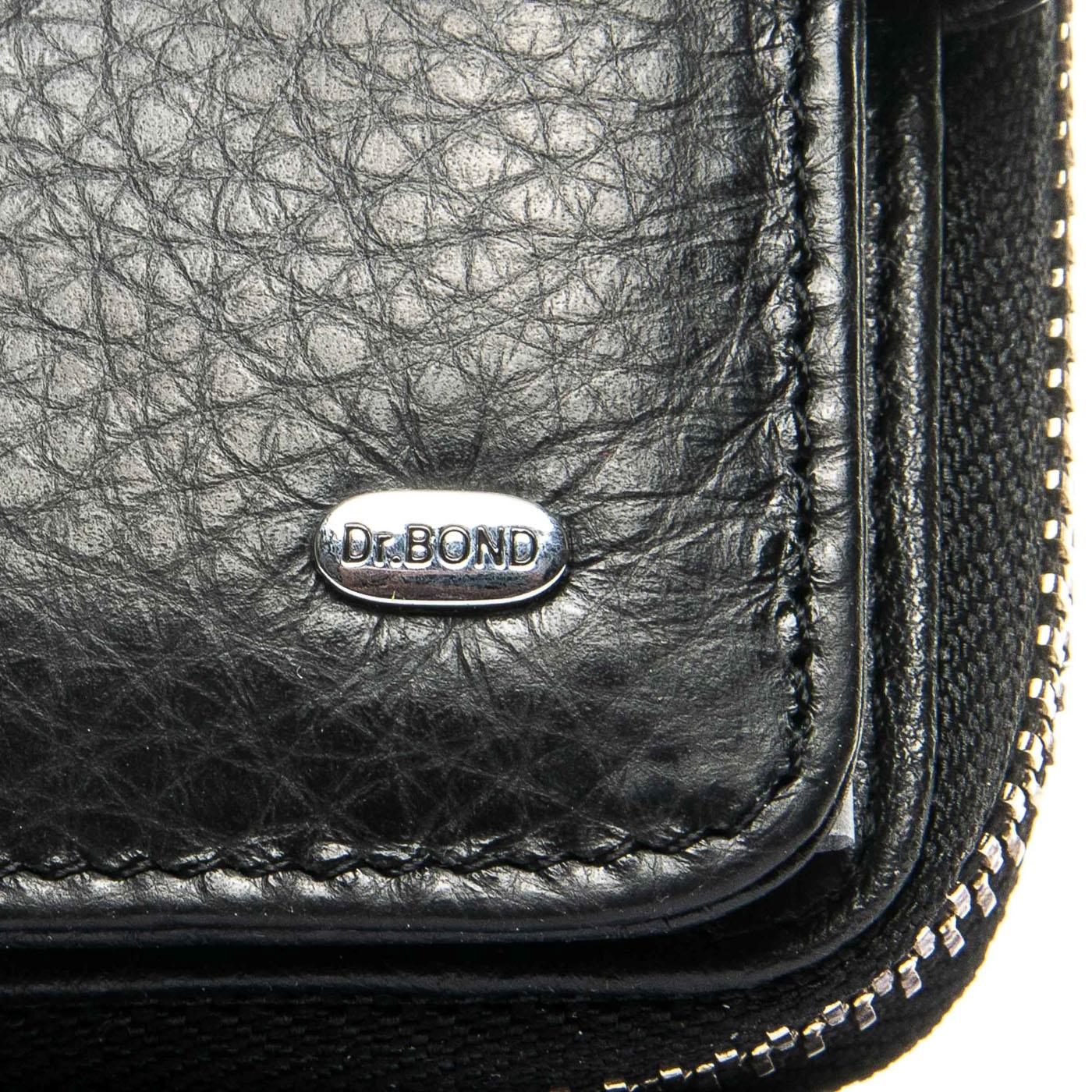 Кошелек Classic кожа DR. BOND WS-9 black - фото 3