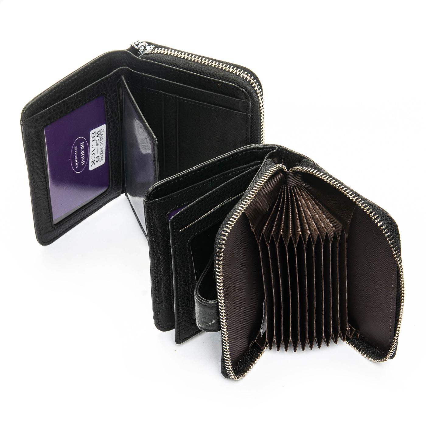 Кошелек Classic кожа DR. BOND WS-9 black - фото 4