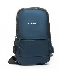 Рюкзак Городской одна лямка нейлон Lanpad 6282 blue