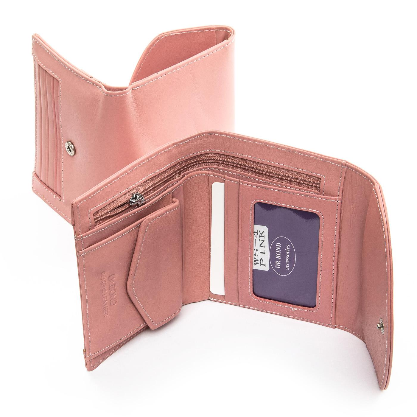 Кошелек Classic кожа DR. BOND WS-4 pink