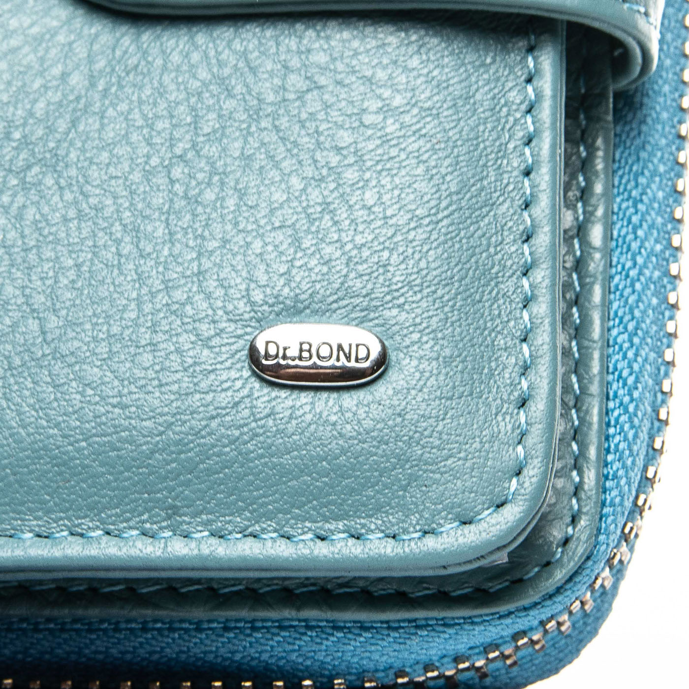 Кошелек Classic кожа DR. BOND WS-9 light-blue
