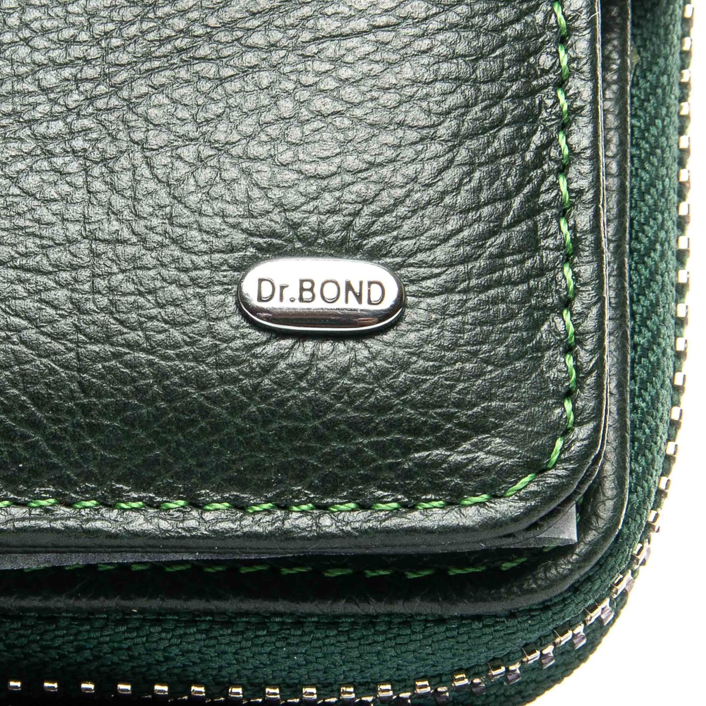 Кошелек Classic кожа DR. BOND WS-9 green