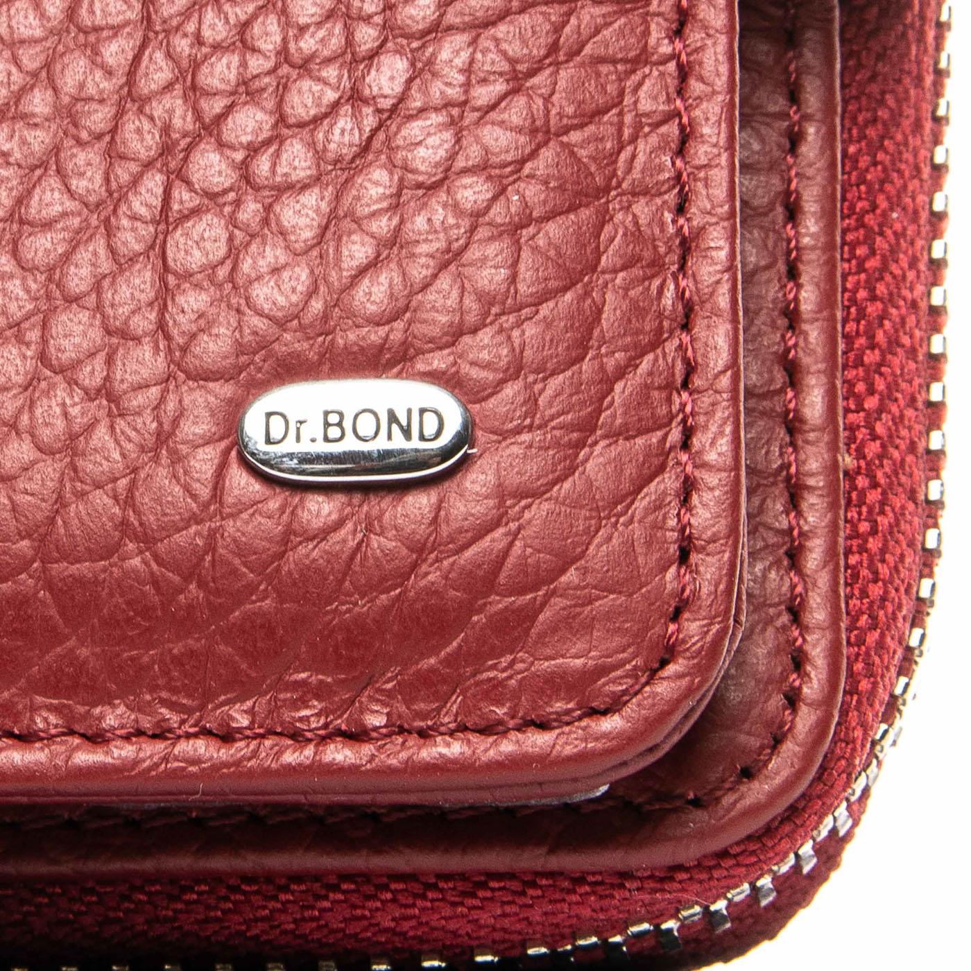 Кошелек Classic кожа DR. BOND WS-9 red