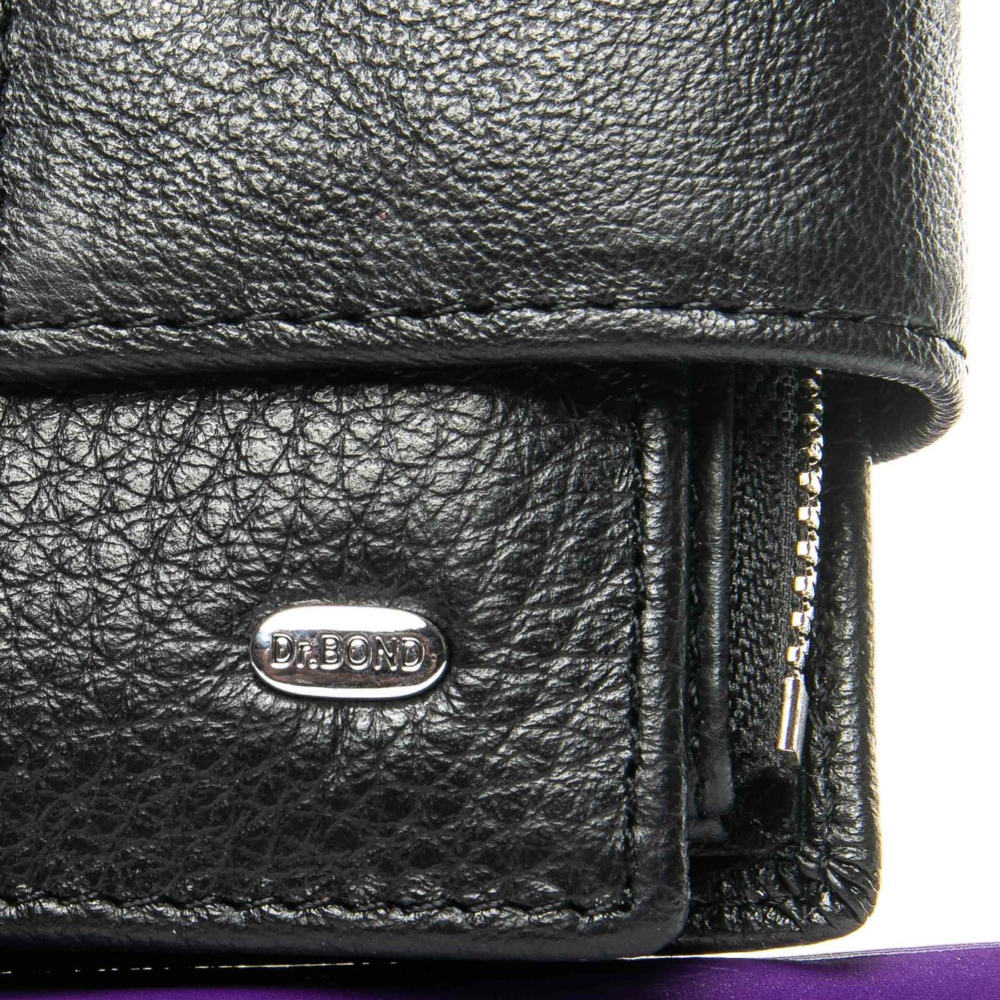 Кошелек Classic кожа DR. BOND WS-5 black
