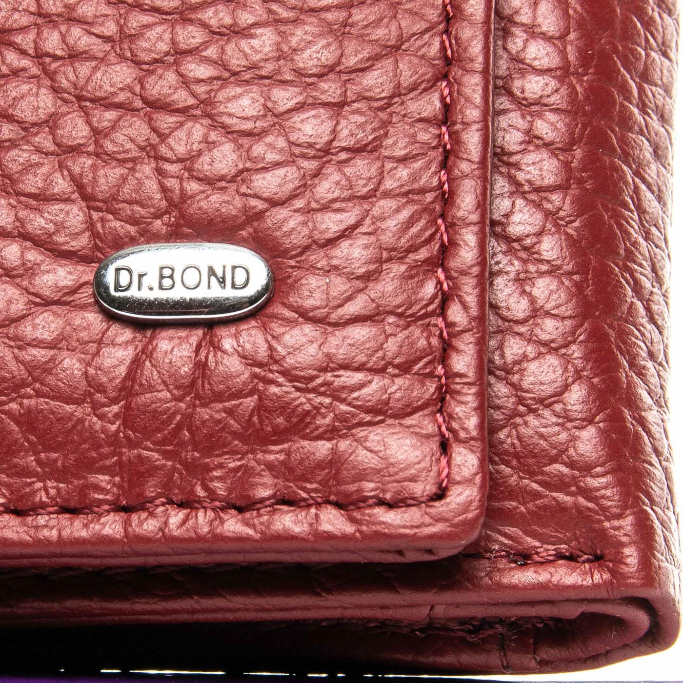 Кошелек Classic кожа DR. BOND WS-6 red - фото 3