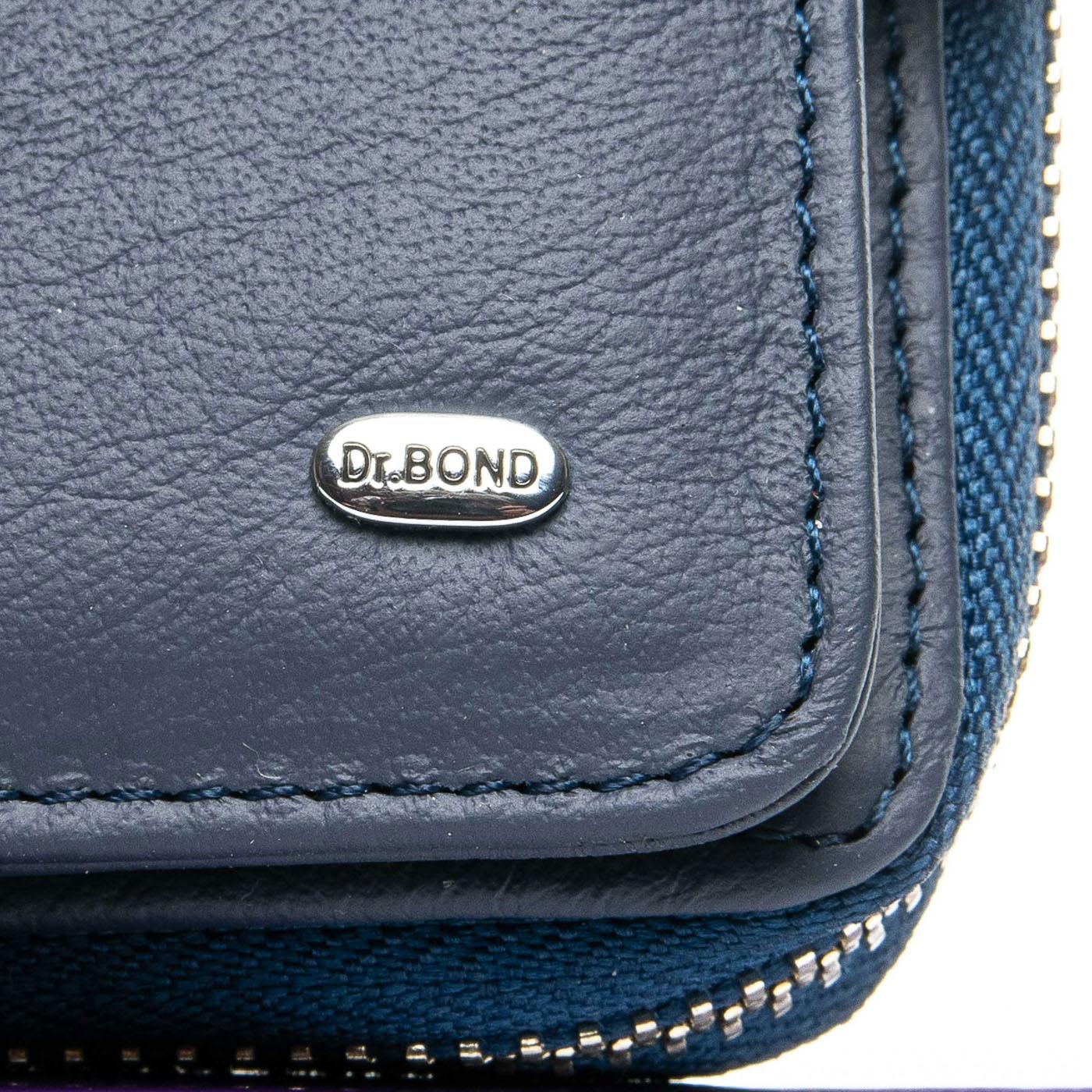 Кошелек Classic кожа DR. BOND WS-9 blue