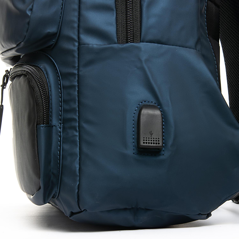 Рюкзак Городской нейлон Lanpad 2218 blue - фото 3