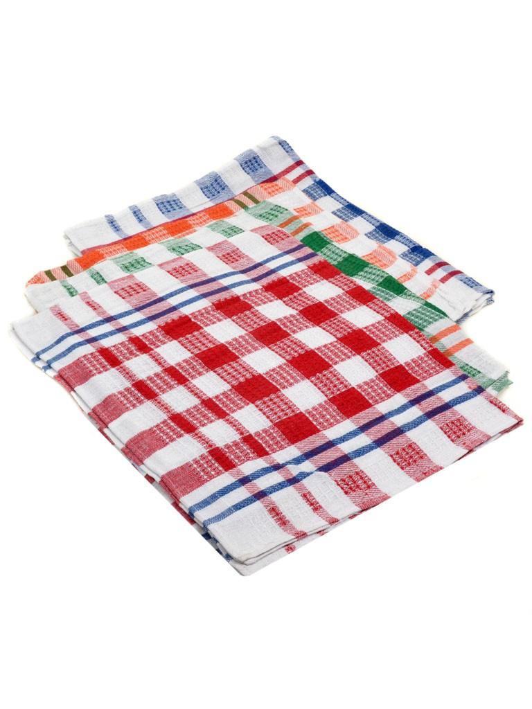 Домашний Текстиль Полотенце Кухонное 36-4 12шт